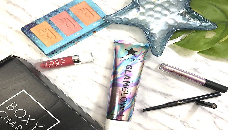 boxycharm mayo 2019 españa opinion glamglow dose of colors alamar cosmetics mellow maquillaje barato de alta gama